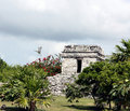 Free Tulum Watch Tower Royalty Free Stock Image - 16972386