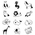 Free Cartoon Animals Royalty Free Stock Photo - 16974845