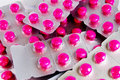 Free Pack Of Pink Medicine Pills Stock Photos - 16977743