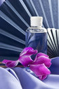 Free Fan ,flowers And Scented Oil Royalty Free Stock Photos - 16978608