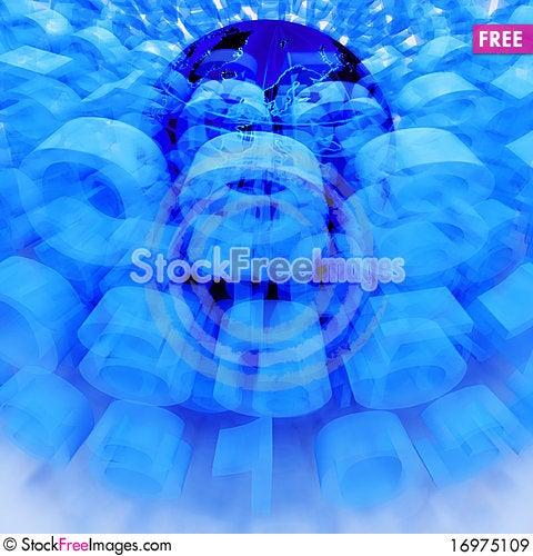 Free Digital World Royalty Free Stock Images - 16975109