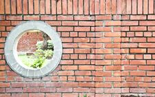 Free Background Of Brick Wall. Royalty Free Stock Photos - 16970428