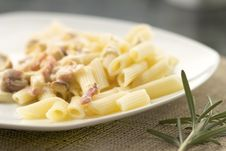 Free Pasta Carbonara Stock Photography - 16971402