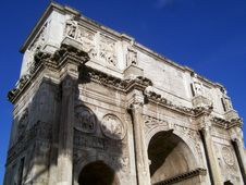 Free Constantine S Arch Royalty Free Stock Image - 16971596