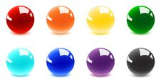 Free Shiny Balls Stock Image - 16972051