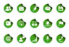 Free Internet Icons | Sticky Series Royalty Free Stock Images - 16972139