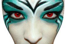 Free Girl Make-up. Stock Photos - 16973233
