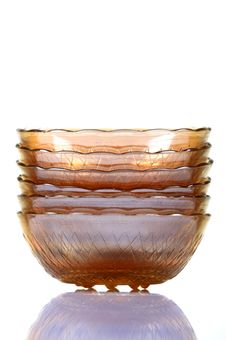 Free Colored Glass Bowls Royalty Free Stock Photography - 16973317