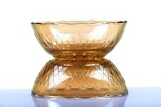 Glass Bowls Royalty Free Stock Photo