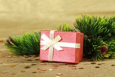 Free Christmas Gift Royalty Free Stock Photo - 16973785
