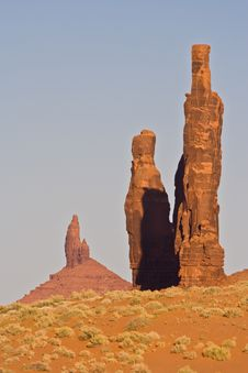 Free Monument Valley Stock Image - 16974001