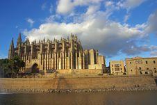 Free Palma De Majorca Cathedral Royalty Free Stock Photo - 16974335