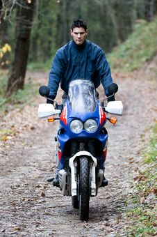 Free Off-road Motorbike Crossing Stock Image - 16974381