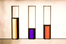 Free Vials With Multicolor Liquids Royalty Free Stock Images - 16974409