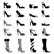 Free Fashion Woman Shoes Royalty Free Stock Photos - 16974678