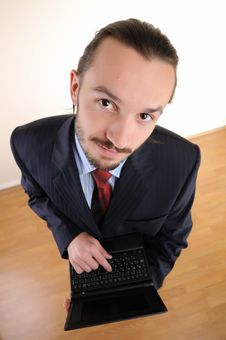 Portrait Of  Business Person Stock Images