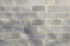 Free Grey Brick Wall Royalty Free Stock Image - 16975006