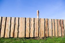 Free Wooden  Fence Royalty Free Stock Photos - 16975078