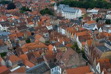 Free Panoramic View Of Bruges. Royalty Free Stock Photos - 16975698