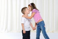Free Young Brother And Sister Stock Photography - 16975752