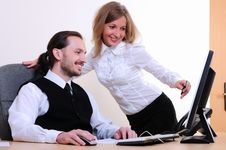 Free Young Business Man Royalty Free Stock Image - 16975886