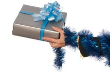 Free Present For Christmas Royalty Free Stock Image - 16976056