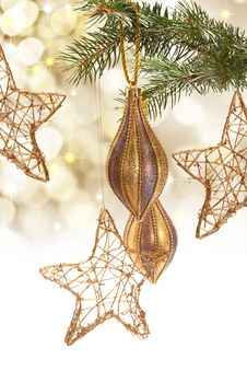 Free Christmas Decorations Stock Photo - 16976310