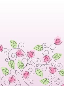 Free Floral Background Stock Images - 16977214