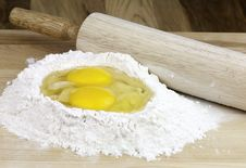 Making Dough Stock Images