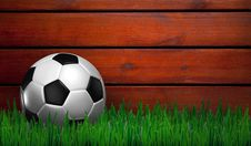 Free Football On Green Grass Royalty Free Stock Photography - 16978167
