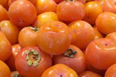 Free Fresh Persimmon In Market Stock Images - 16978424