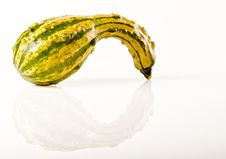 Free Green And Yellow Gourd Royalty Free Stock Photo - 16978885