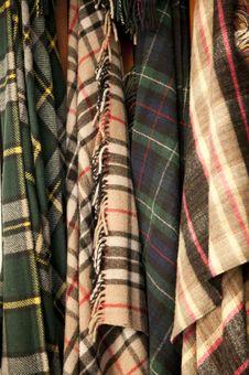Free Tarten Blankets Royalty Free Stock Photo - 16978955