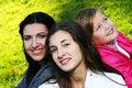 Free Family In Autumn Park Stock Photos - 16982033