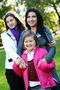 Free Family In Autumn Park Royalty Free Stock Image - 16982046