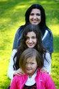 Free Family In Autumn Park Stock Photos - 16982063