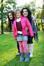 Free Family In Autumn Park Stock Image - 16982081