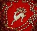 Free Christmas Deer Stock Image - 16984411