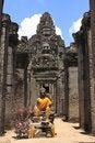 Free Bayon Temple Statue Stock Photos - 16985233