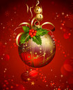 Free Red Christmas Evening Ball Royalty Free Stock Images - 16986169