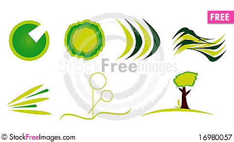 Free Logo Collection Royalty Free Stock Photography - 16980057