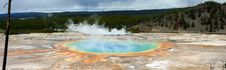 Grand Prismatic At Yellowstone Royalty Free Stock Images