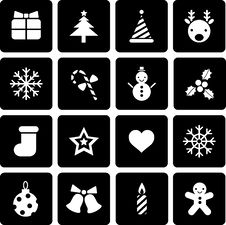 Free Christmas Icon Stock Photography - 16980932