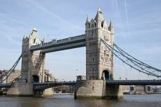 Free Tower Bridge And The City Of London Royalty Free Stock Image - 16981816