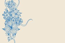 Free Blue Flowers Royalty Free Stock Photography - 16982127