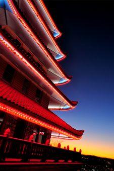 Free Japan Pagoda Royalty Free Stock Photo - 16982465