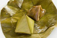 Free Kanom Tein,dessert Of Thailand Royalty Free Stock Photos - 16984238