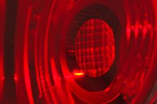 Free Red Bulb In Car Light Stock Photo - 16984450