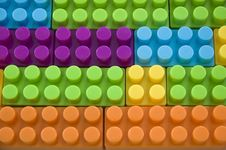 Colorful Lego Toy Royalty Free Stock Photos