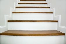 Free Wood Stair Stock Photography - 16985832